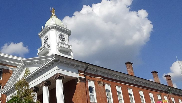 Franklin County Courthouse in Chambersburg, PA