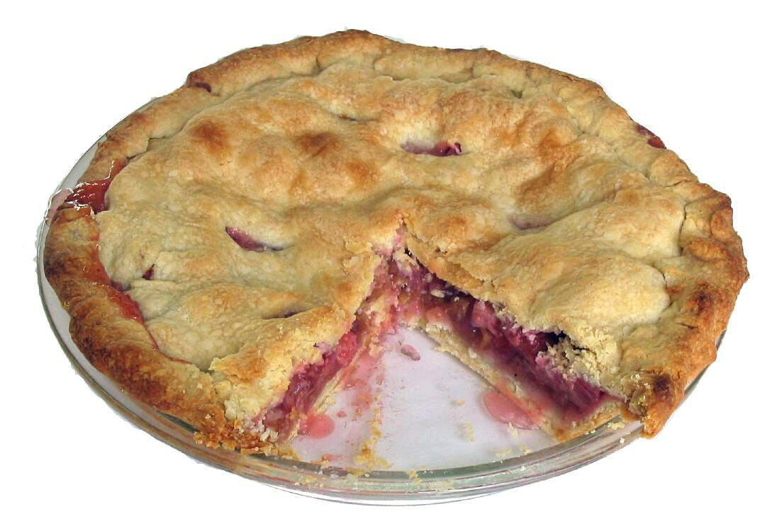 Aunt Mable's Rhubarb Pie