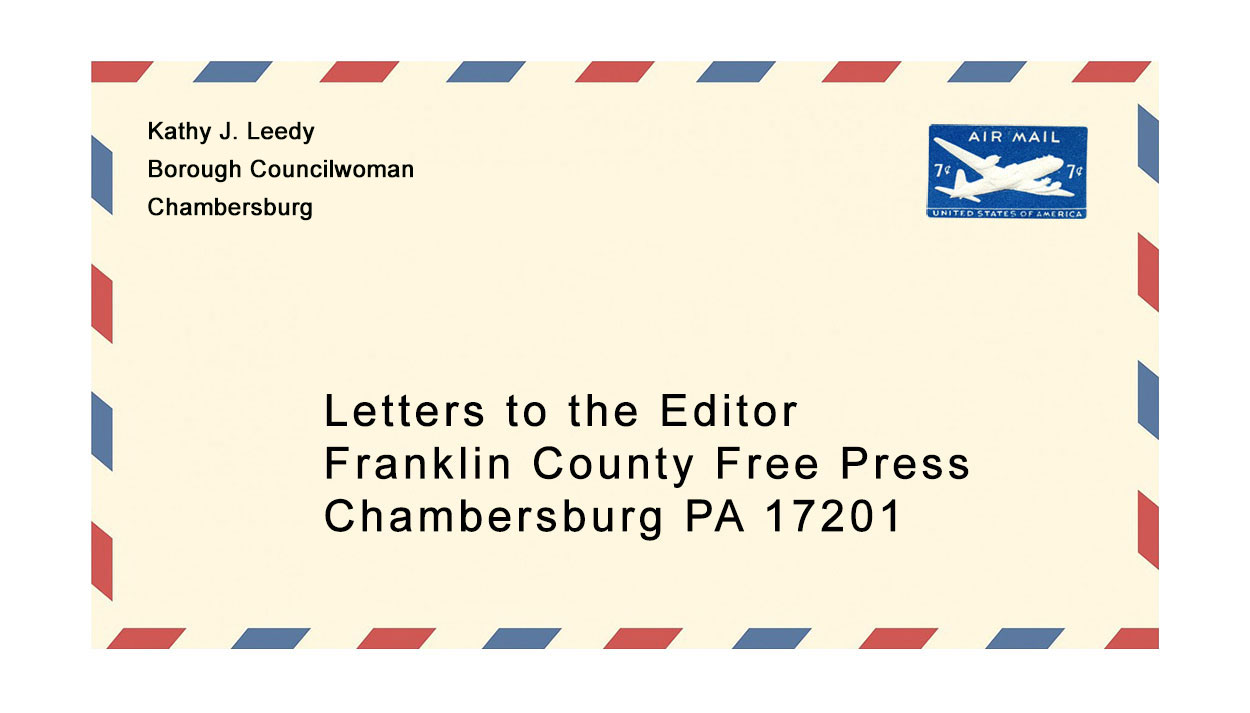 Letter to the Editor from Kathy J. Leedy