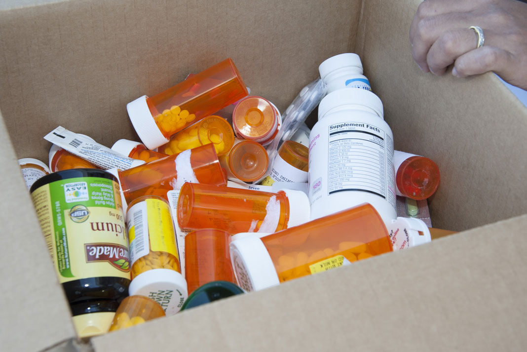 Safely Dispose of Unused Prescription, Over the Counter Drugs