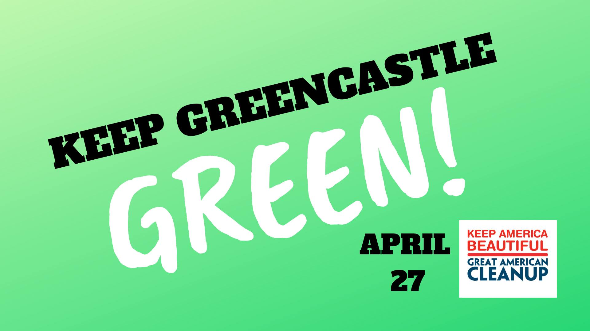 Keep Greencastle Green