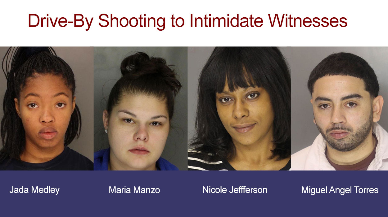Drive-By Shooting to Intimidate Witnesses