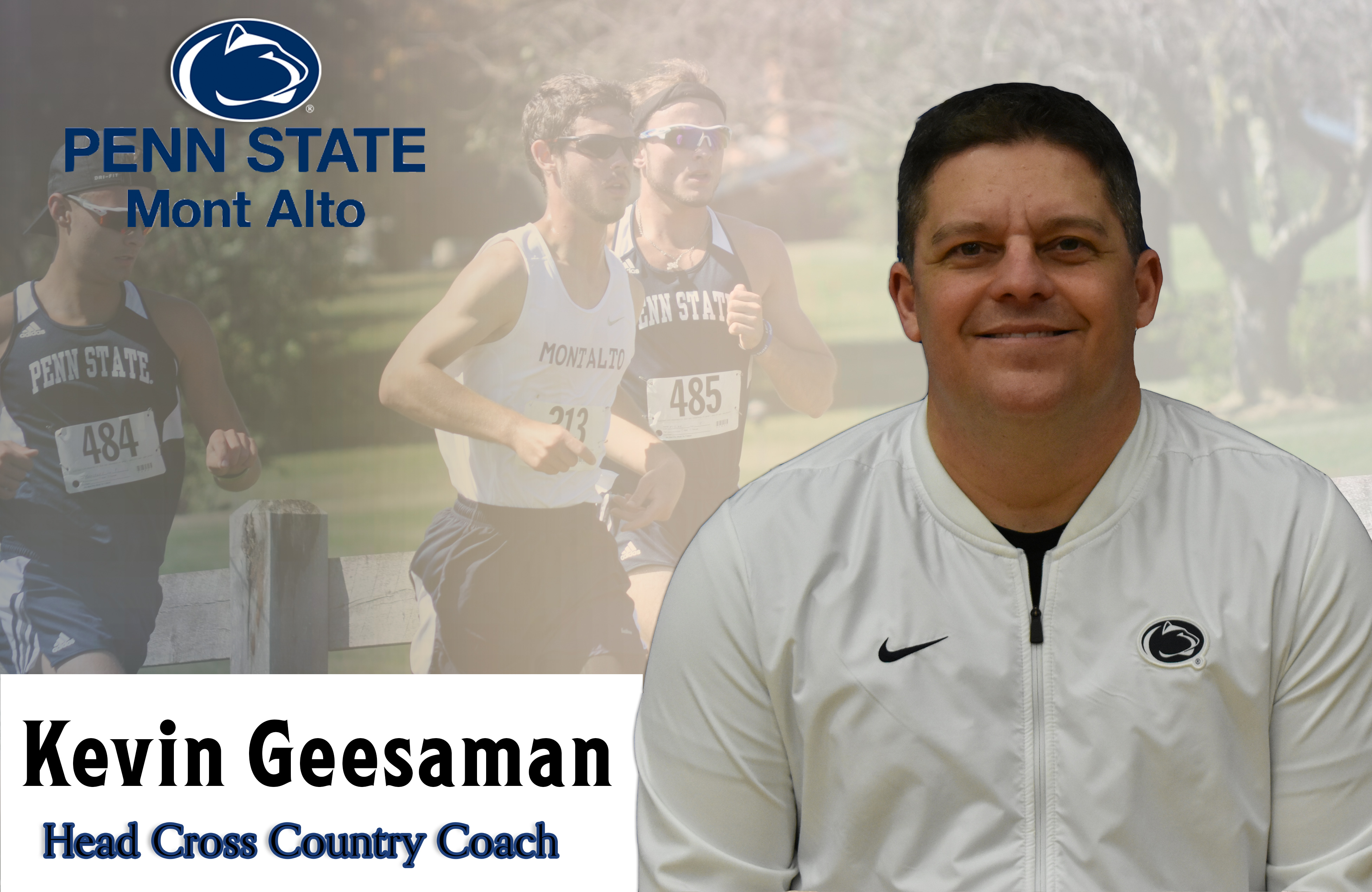Kevin Geesaman to head PSMA Cross Country programs