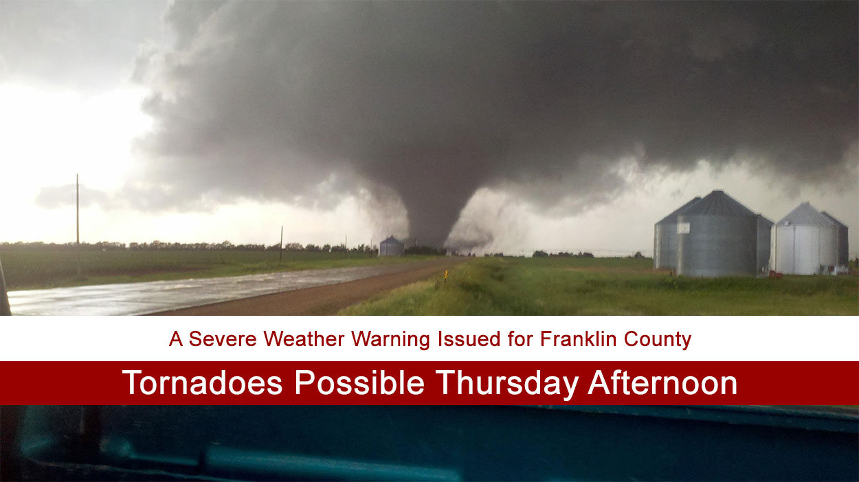 Tornadoes Possible Thursday Afternoon