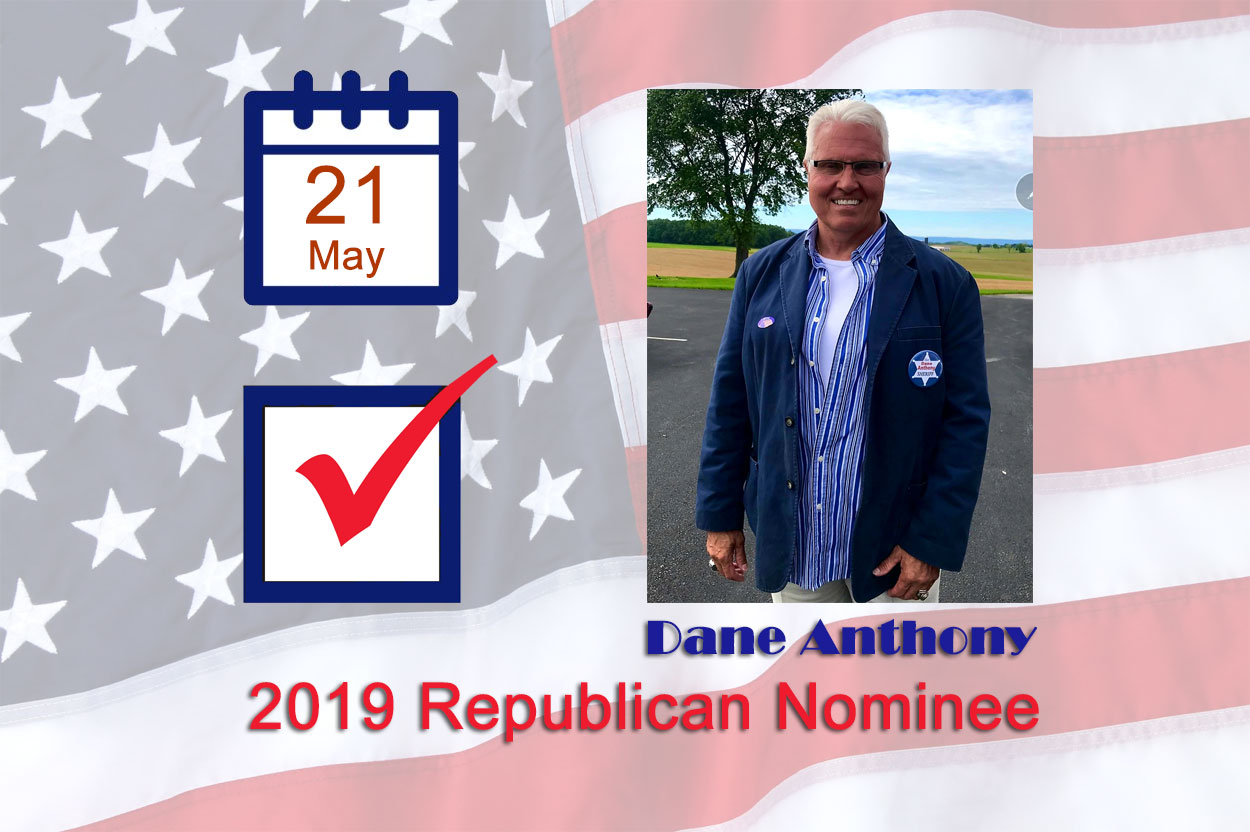 Anthony Wins Republican Nomination for Sheriff