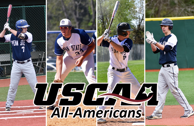 Four Mont Alto Nittany Lions Named USCAA All-Americans