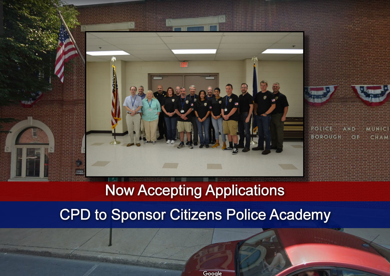 CPD to Sponsor Citizens Police Academy