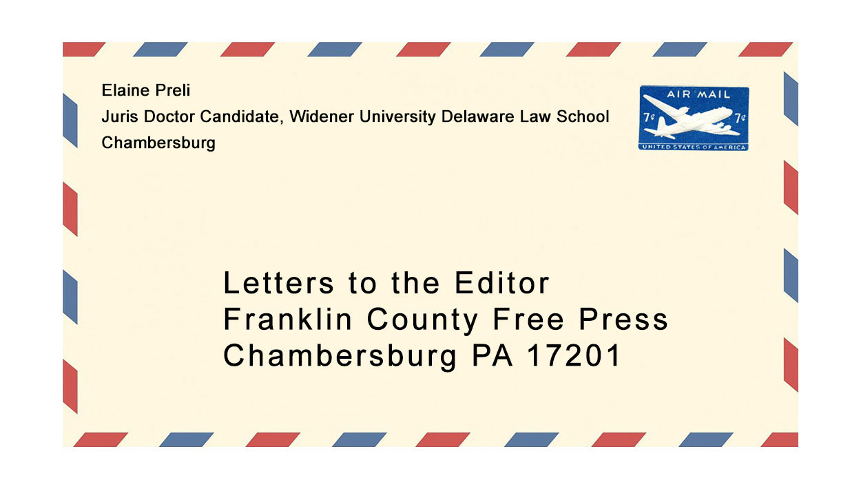 Letter to the Editor: Support Ian Brink for Judge