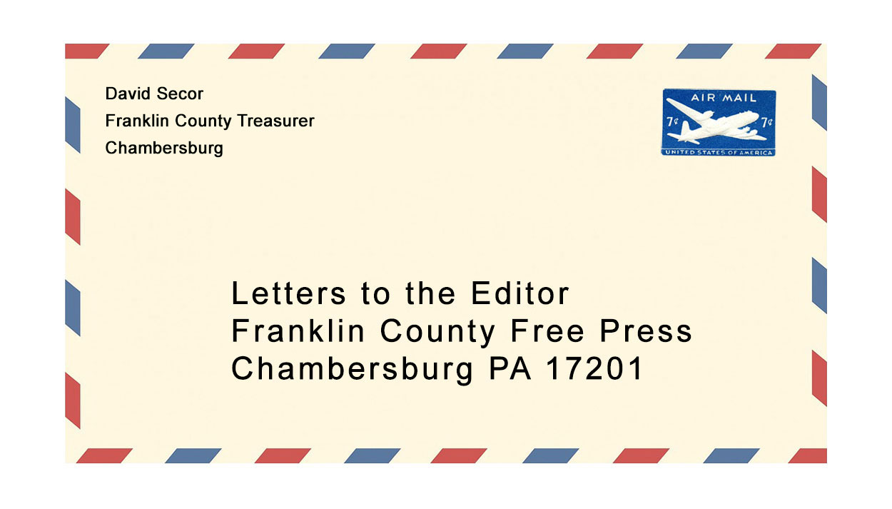 Letter to the Editor from David Secor