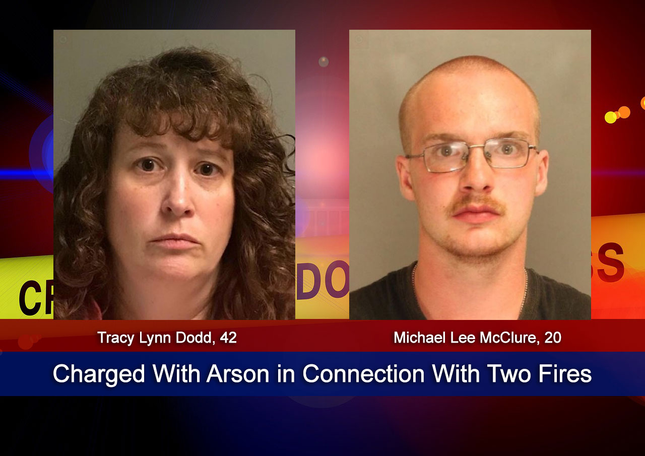 Charged With Arson in Connection With Two Fires