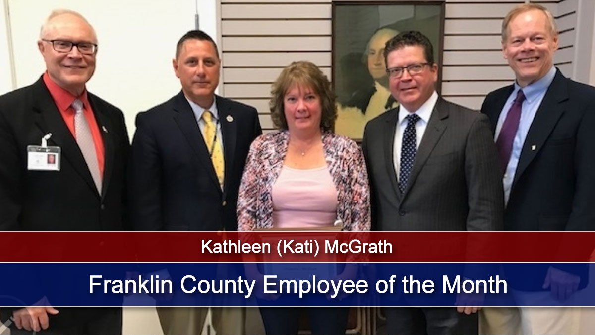 Franklin County Employee of the Month