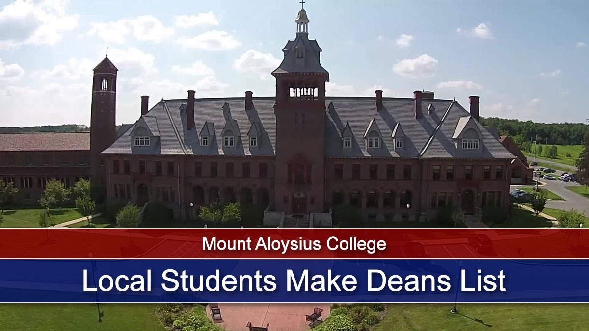 Local Students Make Deans List at Mount Aloysius College