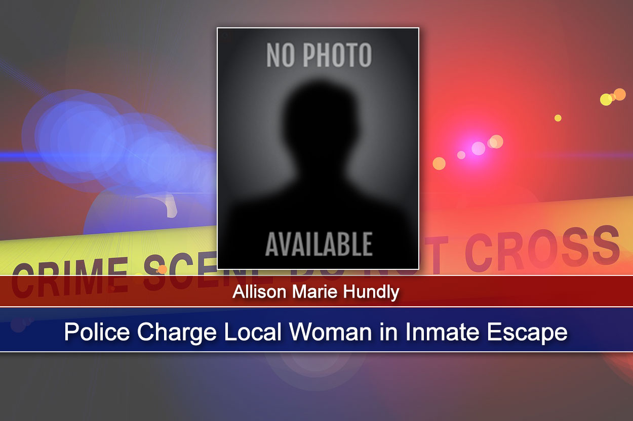 Police Charge Local Woman in Inmate Escape