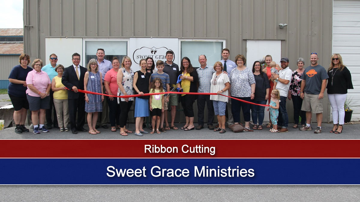Ribbon Cutting: Sweet Grace Ministries