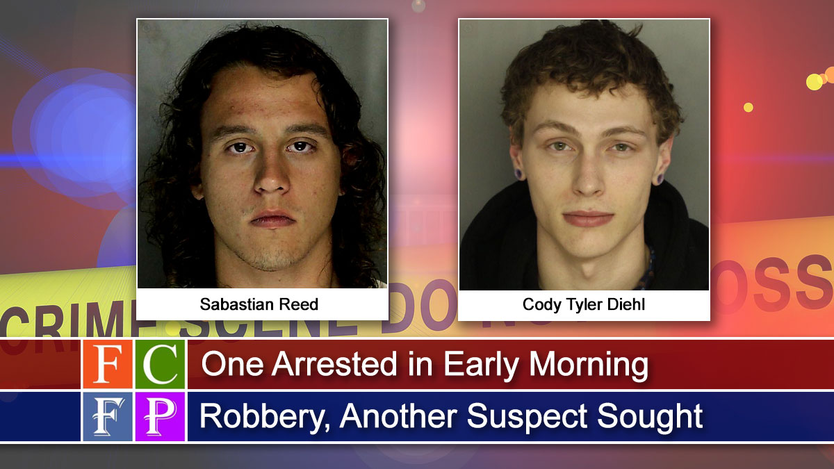 One Arrested in Early Morning Robbery, Another Suspect Sought