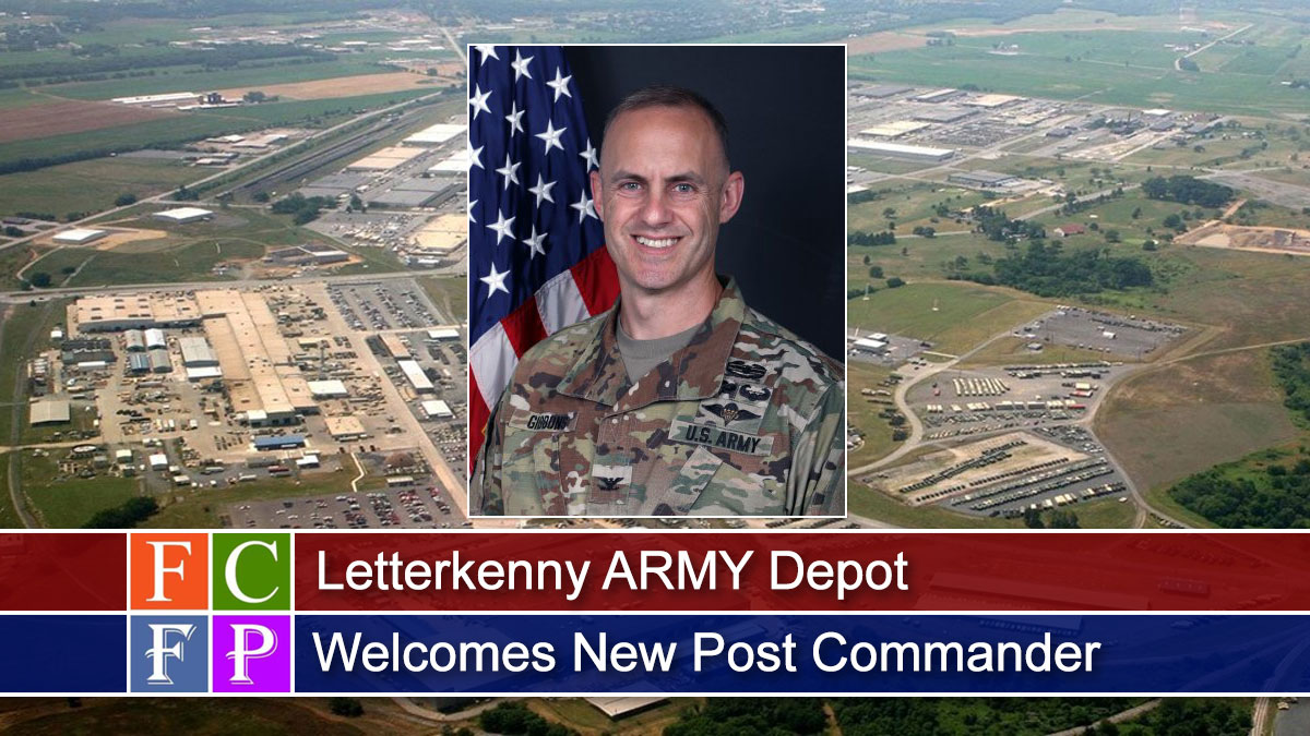 Letterkenny ARMY Depot Welcomes New Post Commander