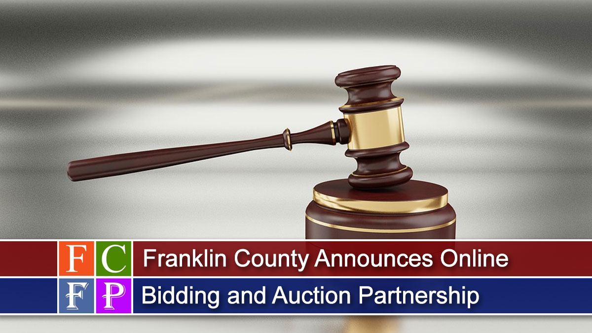 County Announces Online Bidding and Auction Partnership