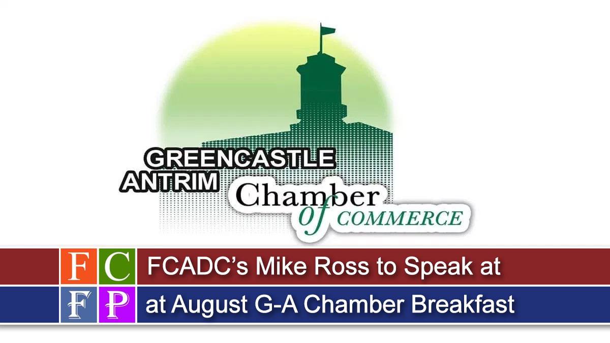 FCADC's Mike Ross to Speak at August G-A Chamber Breakfast