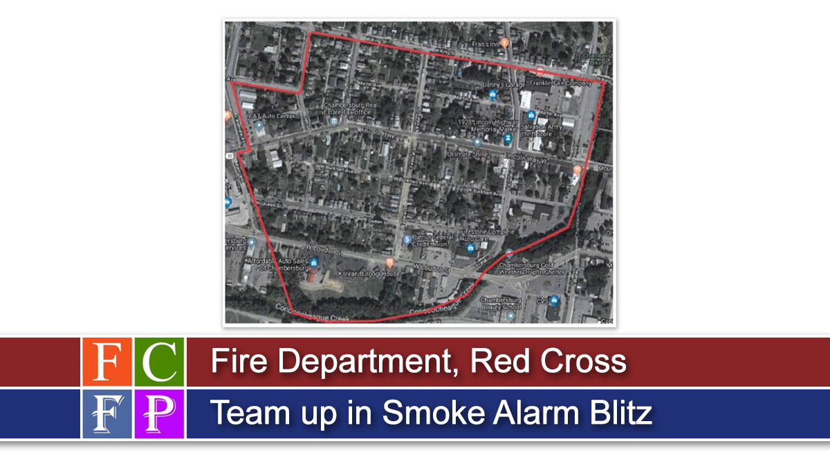 Fire Department, Red Cross Team up in Smoke Alarm Blitz