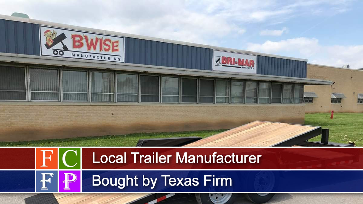 Local Trailer Manufacturer Bought by Texas Firm