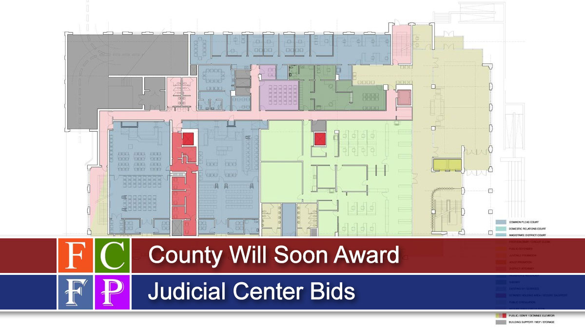 County Will Soon Award Judicial Center Bids