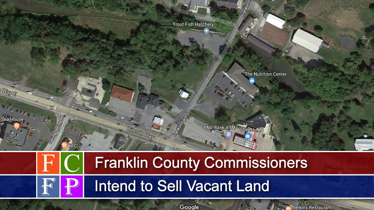 Franklin County Commissioners Intend to Sell Vacant Land