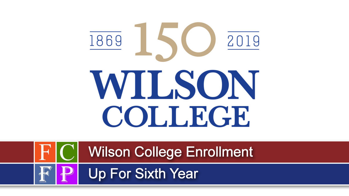 Wilson College Enrollment Up For Sixth Year
