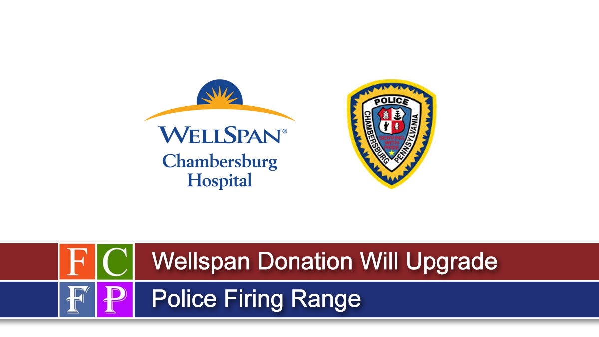Wellspan Donation Will Upgrade Police Firing Range