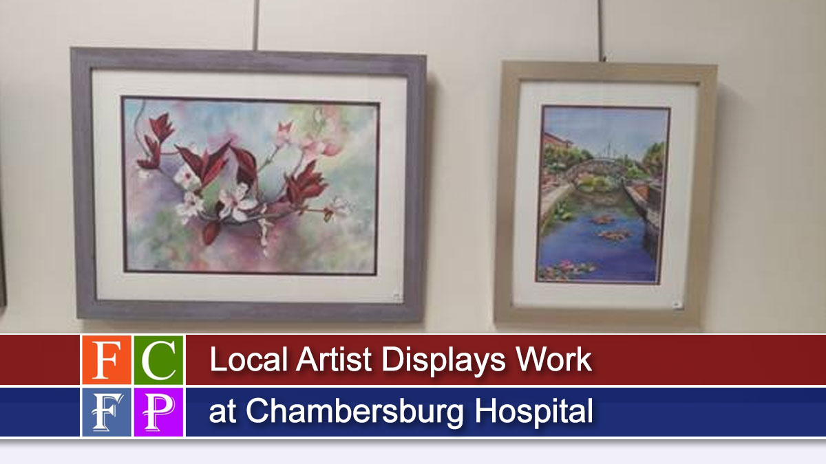 Local Artist Displays Work at Chambersburg Hospital