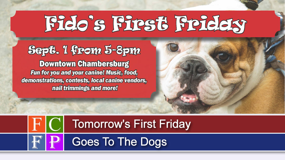 Tomorrow's First Friday Goes To The Dogs