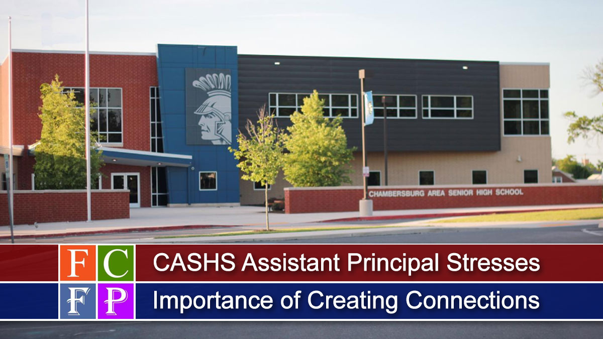 CASHS Assistant Principal Stresses the Importance of Creating Connections