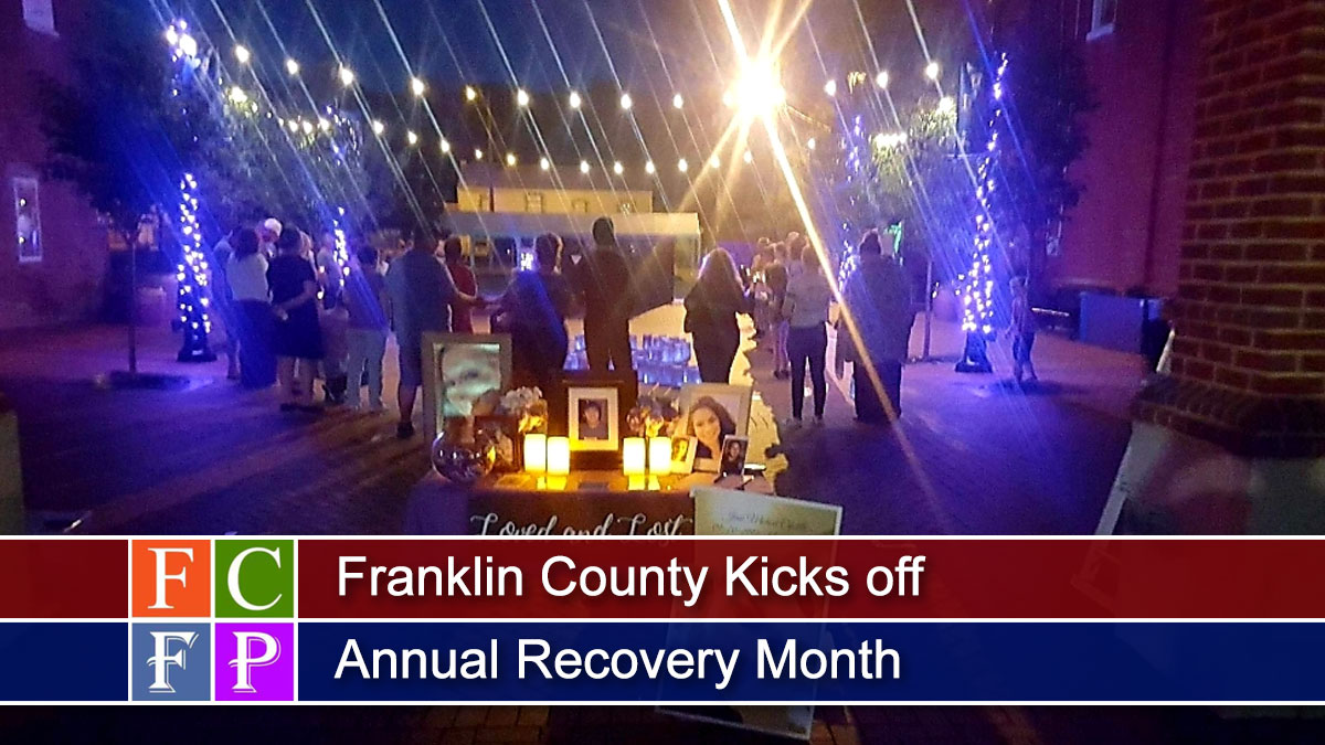Franklin County Kicks off Annual Recovery Month