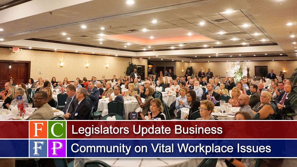 Legislators Update Business Community on Vital Workplace Issues