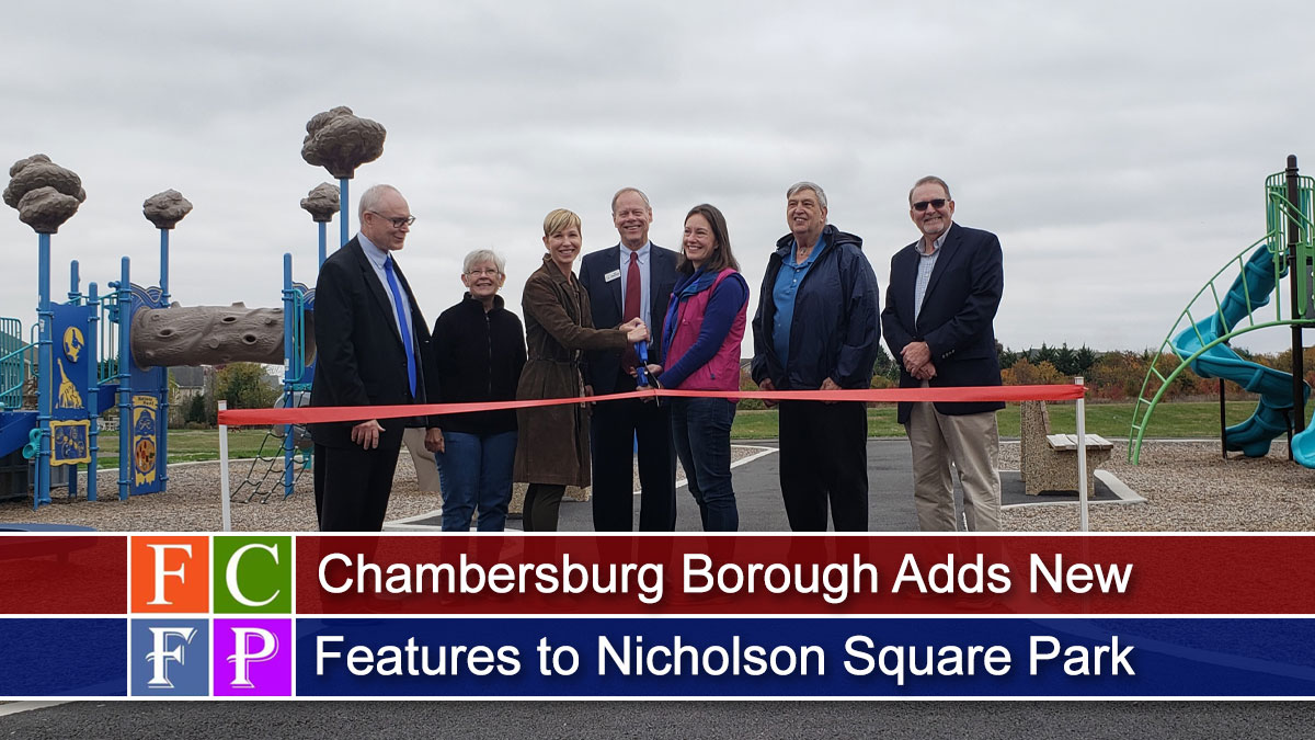 Chambersburg Borough Adds New Features to Nicholson Square Park