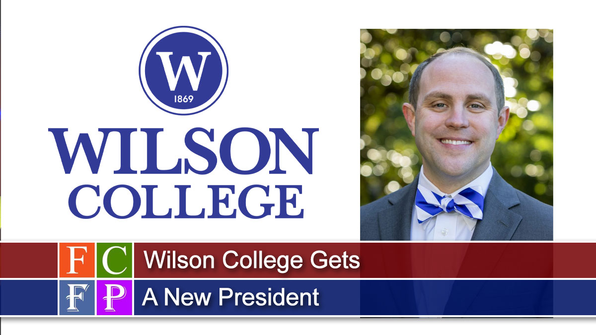 Wilson College Gets A New President