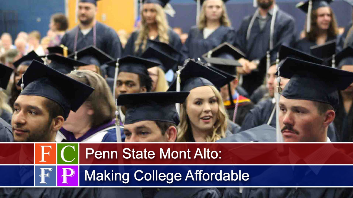 Penn State Mont Alto: Making College Affordable