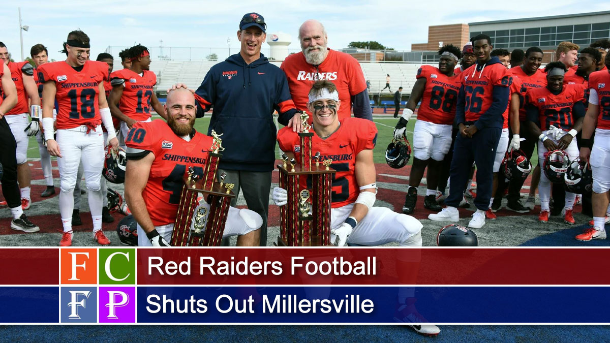 Red Raiders Football Shuts Out Millersville