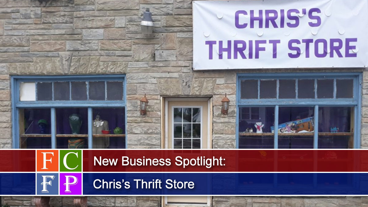 New Business Spotlight: Chris's Thrift Store
