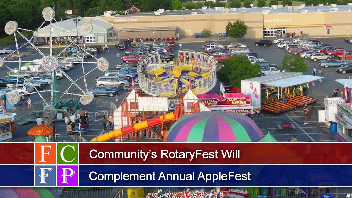 Community's RotaryFest Will Complement Annual AppleFest