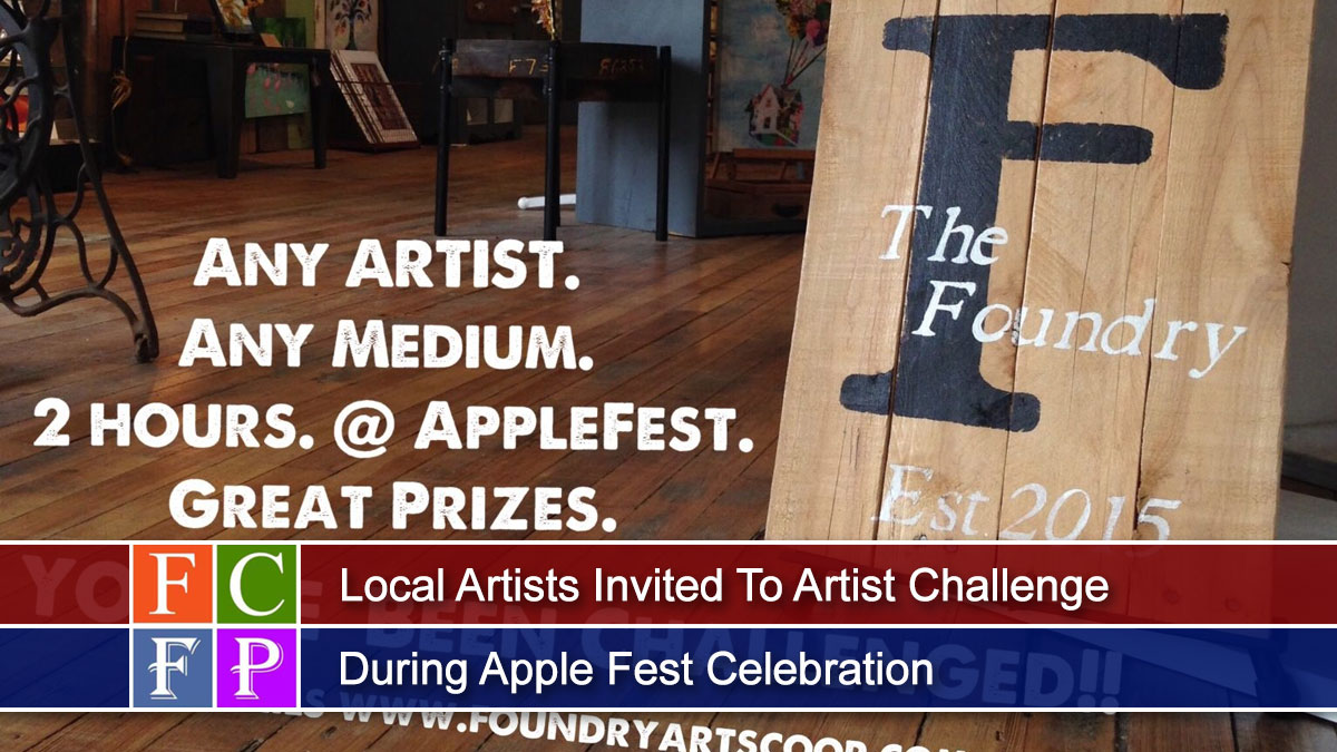 Local Artists Invited To Artist Challenge During Apple Fest Celebration