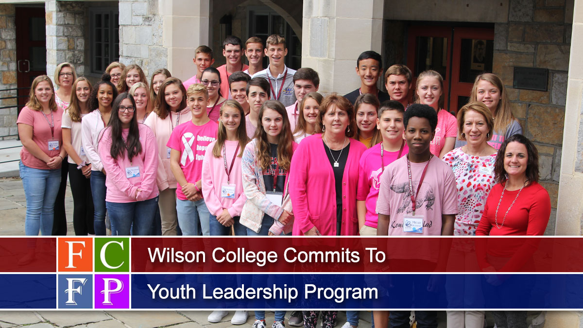 Wilson College Commits To Youth Leadership Program