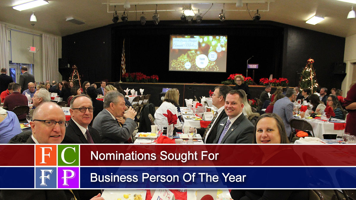 Nominations Sought For Business Person Of The Year