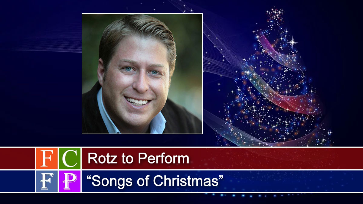 """Rotz to Perform """"Songs of Christmas"""""""