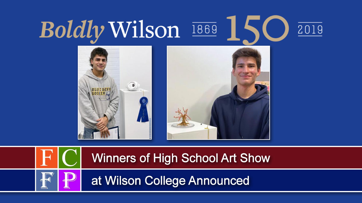 Winners of High School Art Show at Wilson College Announced