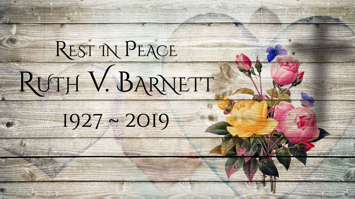 Obituary: Ruth Virginia Barnett