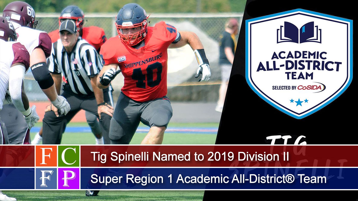 Tig Spinelli Named to 2019 Division II Super Region 1 Academic All-District® Team