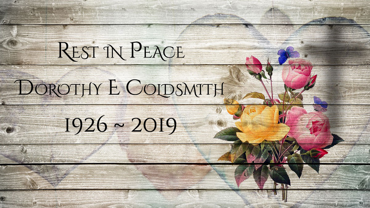 Obituary: Dorothy Elizabeth Coldsmith