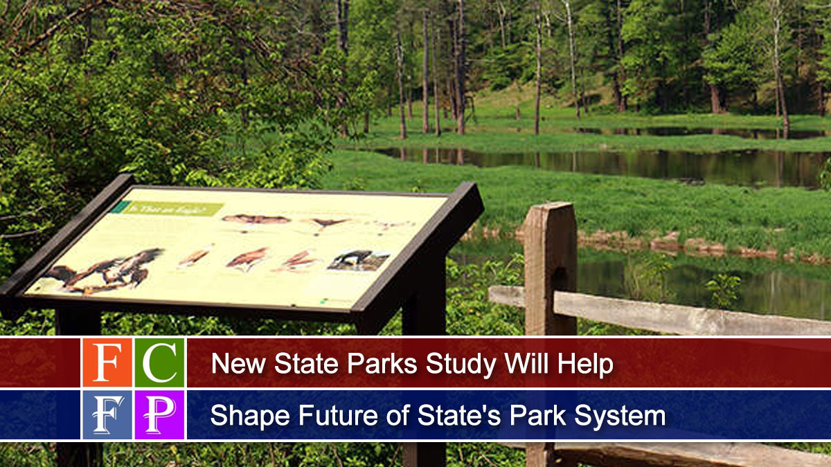 New State Parks Study Will Help Shape Future of State's Park System