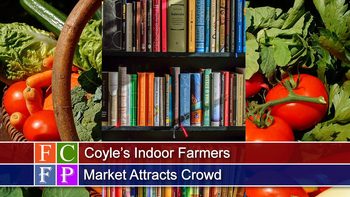 Coyle's Indoor Farmers Market Attracts Crowd