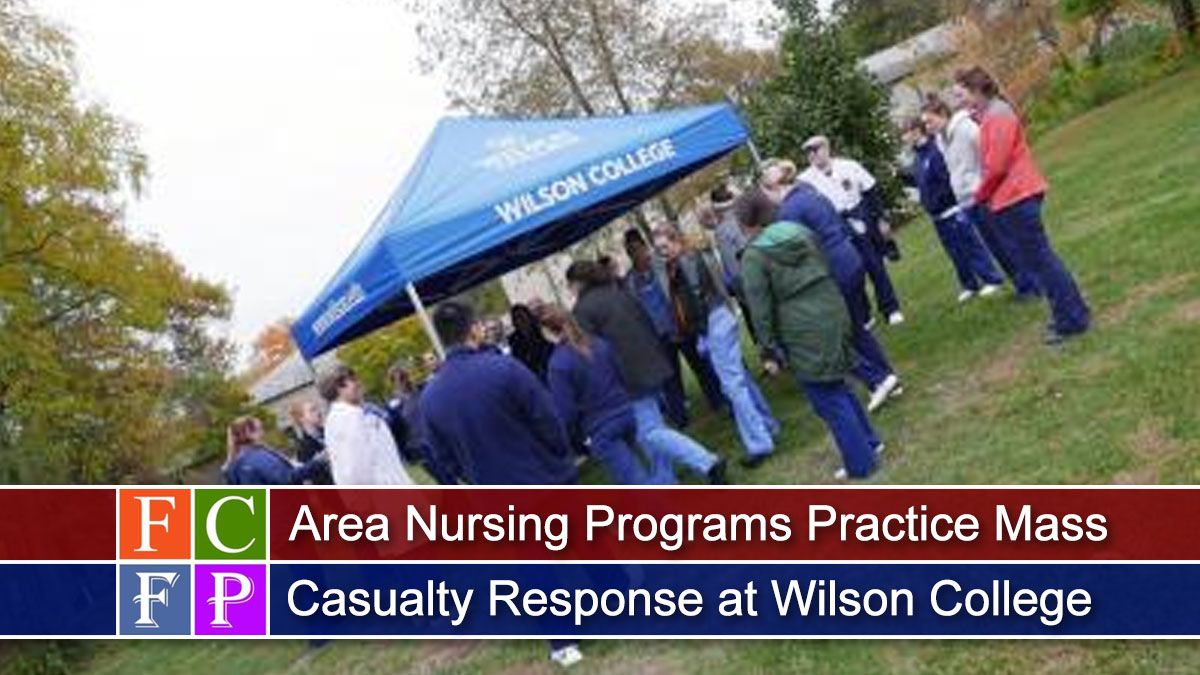 Area Nursing Programs Practice Mass Casualty Response at Wilson College
